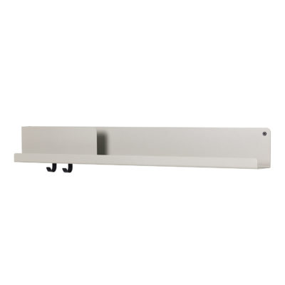 FOLDED Shelf Large, Grey