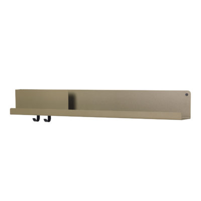FOLDED Shelf Large,Olive