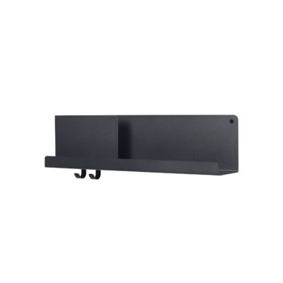 FOLDED Shelf Medium, Black