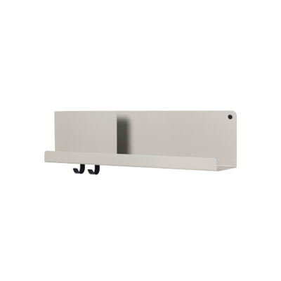FOLDED Shelf Medium, Grey