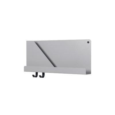 FOLDED Shelf Small, Grey