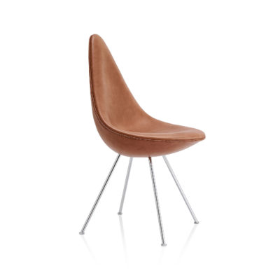 DROP™ 3110 Chair, Fully Upholstered, Leather