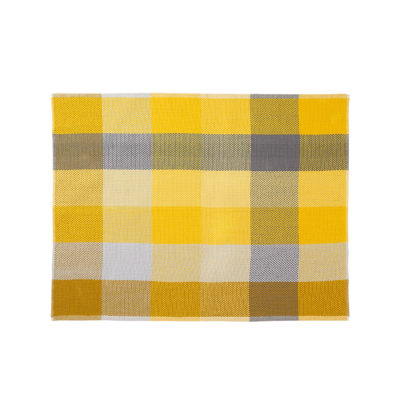 LOOM Throw, Yellow