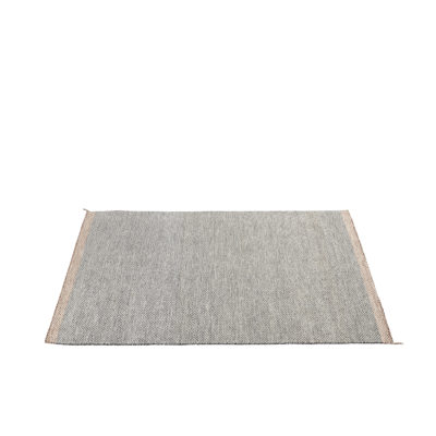 PLY RUG, Black-White