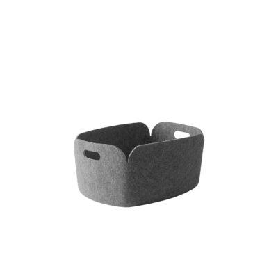 RESTORE Basket, Grey Melange