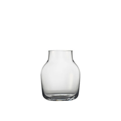 SILENT Vase Small, Clear