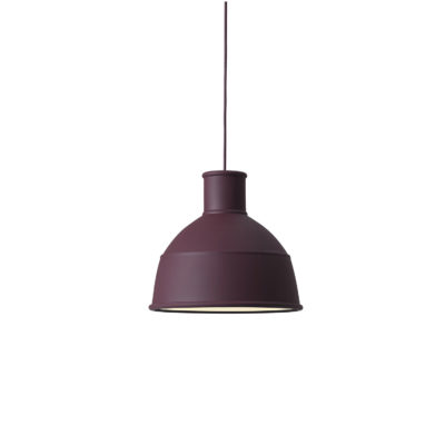 UNFOLD Pendant Lamp, Burgundy