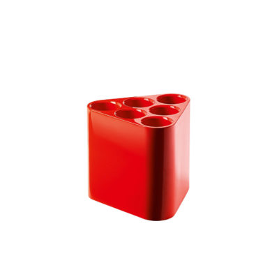 POPPINS Umbrella Stand, Red