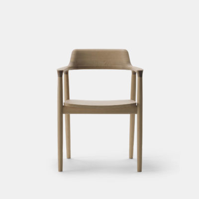 Hiroshima Chair Oak, Urethane Whitish