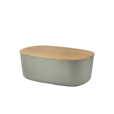 BOX IT Bread Box, Warm Grey