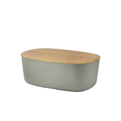 BOX IT Bread Box, Warm Grey