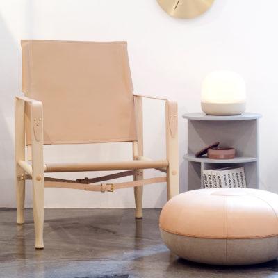 SAFARI Chair, Oiled Ash, Leather