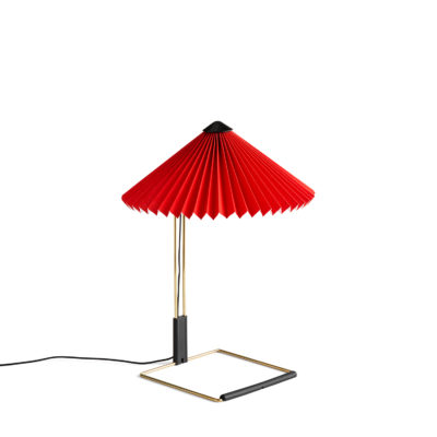MATIN Table Lamp S, Bright Red