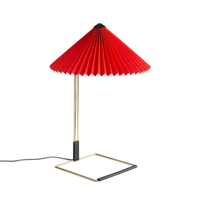MATIN Table Lamp L, Bright Red