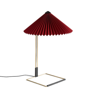MATIN Table Lamp L, Oxide Red