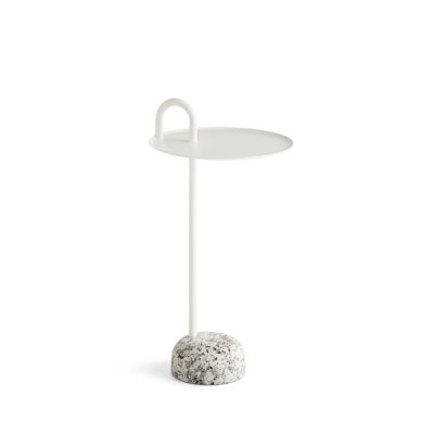BOWLER Table, Cream White