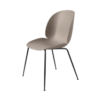 BEETLE Dining Chair, Conic Base, Black