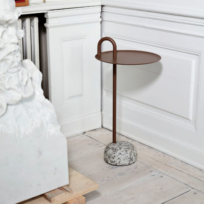 BOWLER Table, Beige