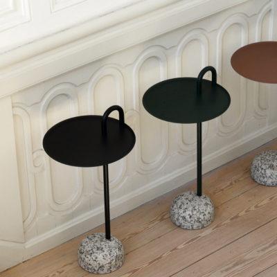 BOWLER Table, Black