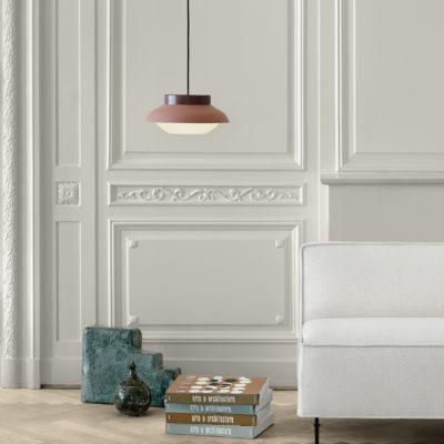 COLLAR Lamp Small, Terracotta