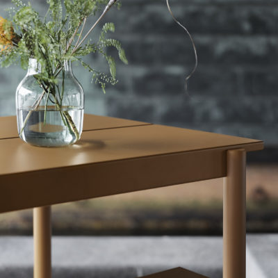 LINEAR Steel Table, 140cm