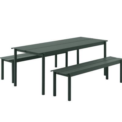 LINEAR Steel Table, 200cm