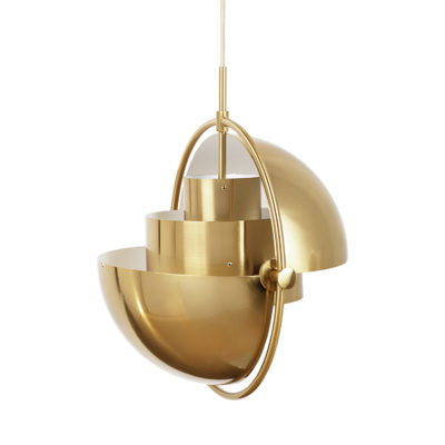 MULTI-LITE Pendant Lamp, Brass