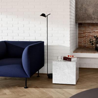 PEEK Floor Lamp, Black