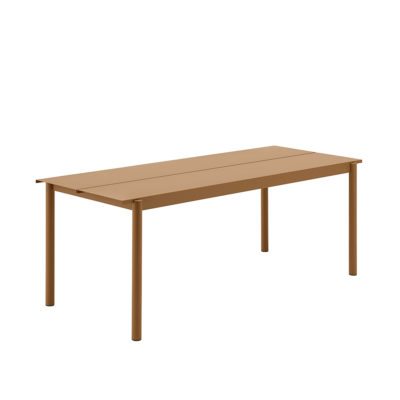 LINEAR Steel Table, 200cm