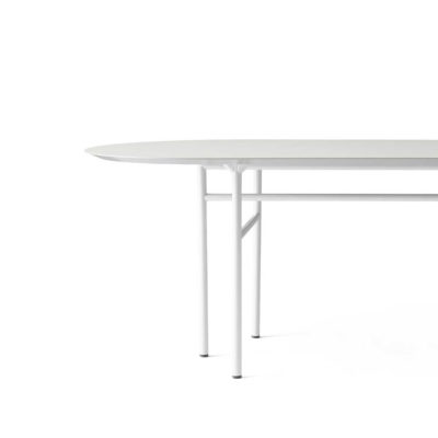 SNAREGADE Table Oval, Light Grey