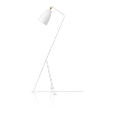 GRÄSHOPPA Floor Lamp, Matt White