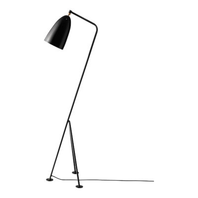GRÄSHOPPA Floor Lamp, Jet Black