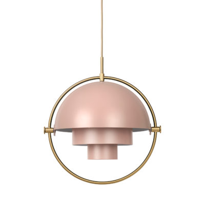 MULTI-LITE Pendant Lamp,  Brass – Rode Dust