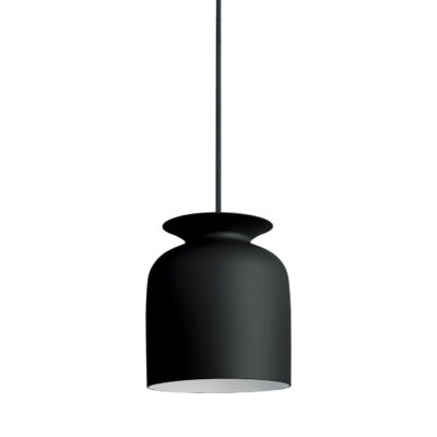 RONDE Pendant Lamp 20, Charcoal Black