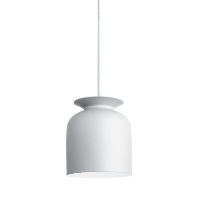 RONDE Pendant Lamp 20, Matt White