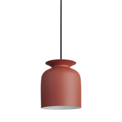 RONDE Pendant Lamp 20, Rusty Red