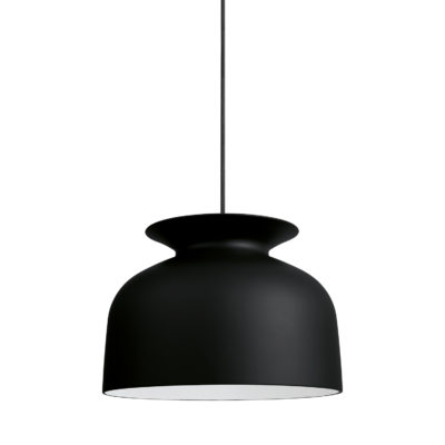 RONDE Pendant Lamp 40, Charcoal Black