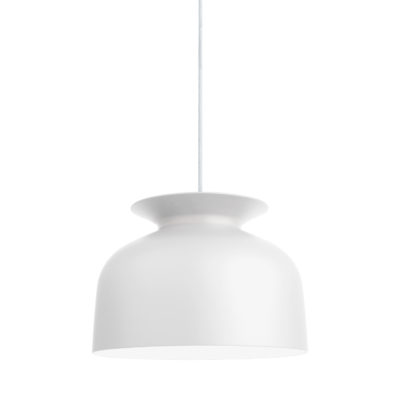 RONDE Pendant Lamp 40, Matt White