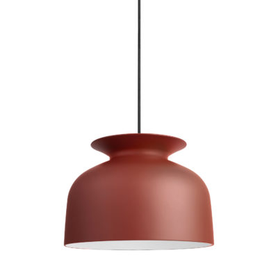 RONDE Pendant Lamp 40, Rusty Red
