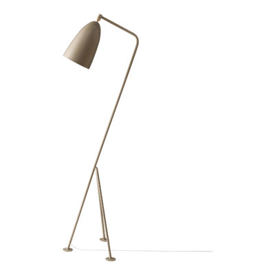 GRÄSHOPPA Floor Lamp, Warm Grey