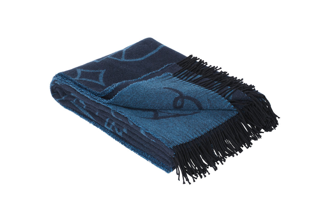 JAIME HAYON THROW, Blue