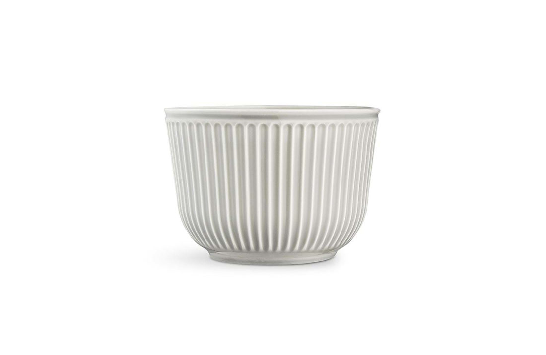 HAMMERSHOI Flower pot Ø26, Light Grey