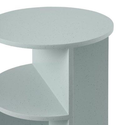 HALVES Side Table, Sage Green