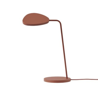 LEAF Table Lamp, Copper Brown