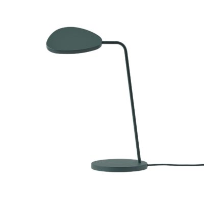 LEAF Table Lamp, Dark Green