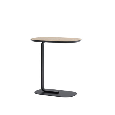 RELATE Side Table, Oak/Black