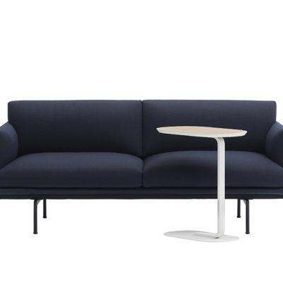 RELATE Side Table, Oak/Black