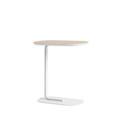RELATE Side Table, Oak/Off-White