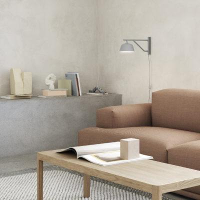 AMBIT Wall Lamp, Grey