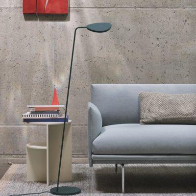 LEAF Floor Lamp, Dark Green